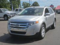 AWD, FORD CERTIFIED, 2013 Ford EdgeSEL in Ingot Silver