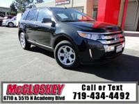 2013 Ford Edge! Take your driving to the edge in this