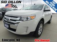 Trustworthy and worry-free, this 2013 Ford Edge SEL