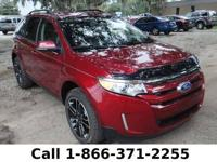 2013 Ford Edge SEL Features: 1/2 Cloth & 1/2 Leather -