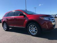 Recent Arrival! 2013 Ford Edge SEL RedHere at Tenneson