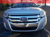White 2013 Ford Edge SEL FWD 6-Speed Automatic with