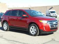 This 2013 Ford Edge SEL will sell fast -Bluetooth -Aux.