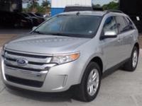 Options:  2013 Ford Edge Sel|Ingot Silver