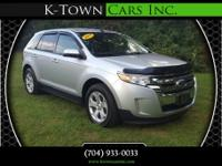 Options:  2013 Ford Edge Sel Sport Utility 4D|Silver|No