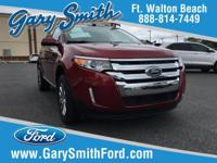 Options:  2013 Ford Edge Sel|Red Hot! Gasoline! You'll