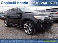 This 2013 Ford Edge IS PRICED TO SELL! -LEATHER- This