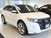This 2013 Ford Edge Sport is equipped with: All Wheel