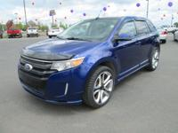 Options:  2013 Ford Edge Sport Awd 6-Speed