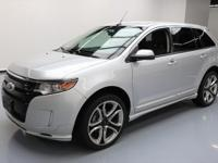 2013 Ford Edge with 3.7L V6 Engine,Leather Seats,Power