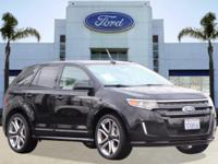 Options:  2013 Ford Edge Sport|Black/|V6 3.7L