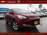 Red 2013 Ford Escape SEL AWD 6-Speed Automatic EcoBoost