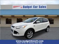 New Price! White 2013 Ford Escape SEL AWD 6-Speed