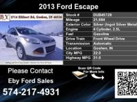 Call Eby Ford Sales at  Stock #: DUB45728 Year: 2013