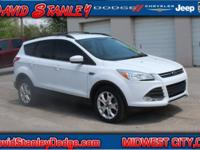 Recent Arrival! CARFAX One-Owner. 2013 Ford Escape SE