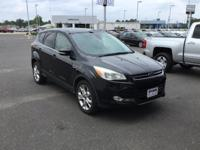 Clean CARFAX. Gray 2013 Ford Escape SEL FWD 6-Speed