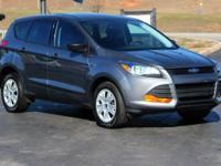 This 2013 Ford Escape S in Sterling Gray Metallic