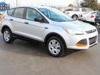 This nice 2013 Ford Escape S in Ingot Silver Metallic