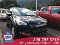 Tuxedo Black 2013 Ford Escape S FWD 6-Speed Automatic