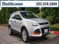 WOW!!! Check out this. 2013 Ford Escape S Silver