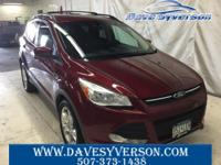 Red 2013 Ford Escape SE AWD 6-Speed Automatic EcoBoost