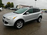 Options:  2013 Ford Escape Se|Silver|Ecoboost 1.6L I4