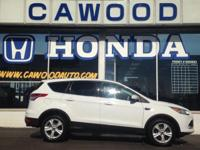 Options:  2013 Ford Escape Se|White|3.51 Axle
