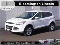 New Price! 2013 Ford Escape SE Alloy wheels, Equipment