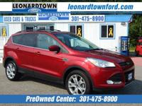 Great Miles on this 2013 Escape SE 4 Wheel Drive -