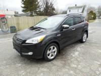 Recent Arrival! Clean CARFAX. Black 2013 Ford Escape