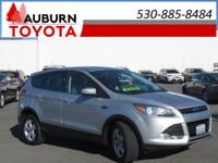LOW MILEAGE, ONE OWNER! This 2013 Ford Escape SE Sport