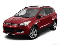 Clean CARFAX. Green 2013 Ford Escape SEL AWD 6-Speed