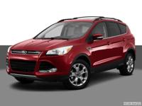 Boasts 30 Highway MPG and 22 City MPG! This Ford Escape