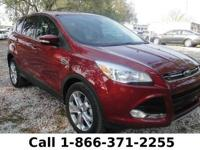 2013 Ford Escape SEL Features: Leather Seats - Touch