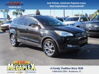 This 2013 Ford Escape SEL in Tuxedo Black is well