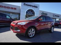 Treat yourself to this 2013 Ford Escape SEL, which