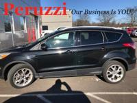 CARFAX One-Owner. Clean CARFAX. Black 2013 Ford Escape
