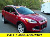 Carfax One-Owner. 2013 Ford Escape Titanium Ruby Red