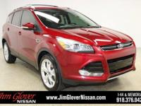 2013 Ford Escape Titanium in Ruby Red Tinted Clearcoat