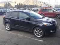 ONE OWNER LOCAL TRADE...Tuxedo Black 2013 Ford Escape