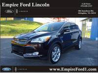 Options:  2013 Ford Escape Titanium|Titanium 4Dr