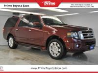 2013 Ford Expedition EL Limited in Ruby Red Metallic