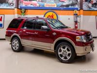 2013 Ford Expedition King Ranch 4X4  TAILGATE RED 2013