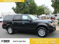 4WD. Clean CARFAX.Black 2013 Ford Expedition Limited 4D