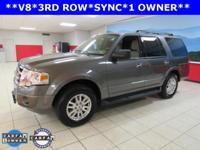 ONE OWNER, SYNC, Expedition XLT, 4D Sport Utility, 5.4L