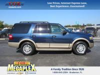 This 2013 Ford Expedition XLT in Blue Jeans Metallic is
