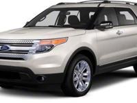 2013 Ford Explorer Base CARFAX: 1-Owner, Buy Back