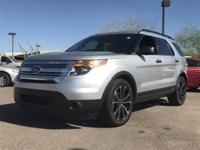 Clean CARFAX.  2013 Ford Explorer 17/24mpg 3.5L
