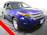 2013 Ford Explorer Base with a 3.5L Engine. Cloth