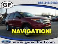 You are looking at a 2013 Ford Explorer XLT with the